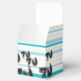 70 yr Bday - 70th Birthday Party Wedding Favour Box