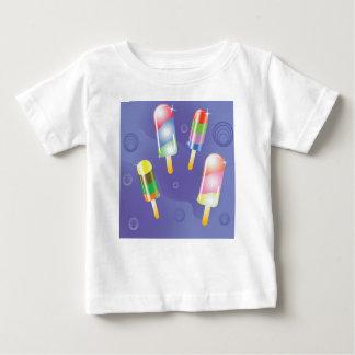 70Ice Cream _rasterized Baby T-Shirt