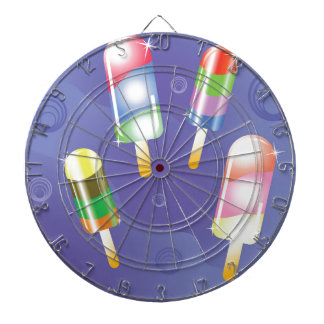 70Ice Cream _rasterized Dartboard