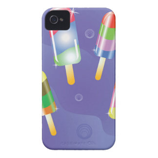 70Ice Cream _rasterized iPhone 4 Case-Mate Cases