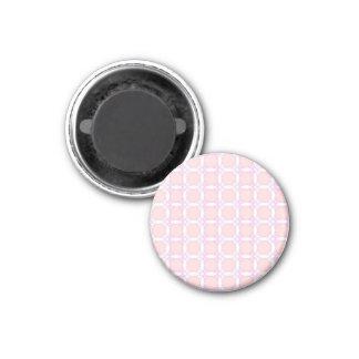 70s design circles,pink fridge magnets