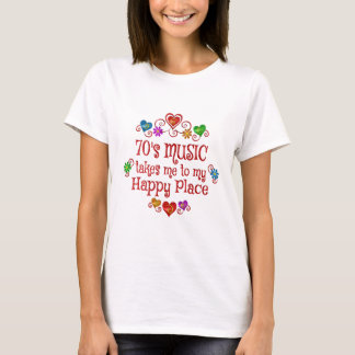 70s Happy Place T-Shirt