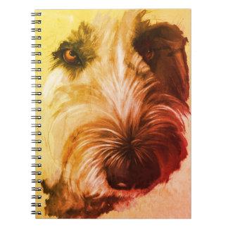 70's Labradoodle Notebook - original art