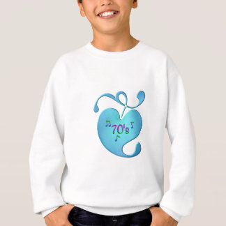 70s Music Love Sweatshirt