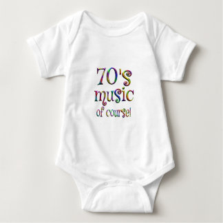 70s Music of Course Baby Bodysuit