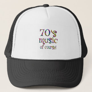 70s Music of Course Trucker Hat