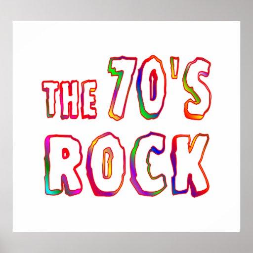 70s Rock Print