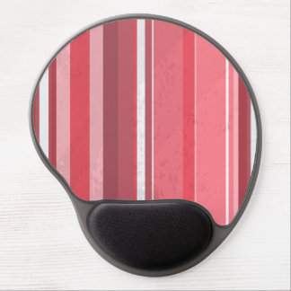 70s Stripes Pink Gel Mouse Pad