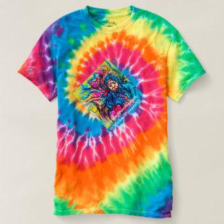 70's ti-dye SPIN Tee-shirt T-Shirt