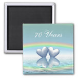 70th Anniversary Platinum Hearts
