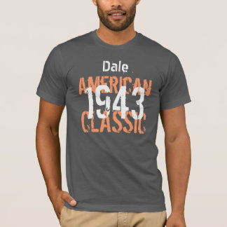 70th Birthday Gift 1943 American Classic T-Shirt