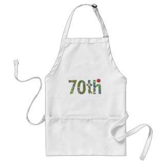 70th Birthday Gifts Apron