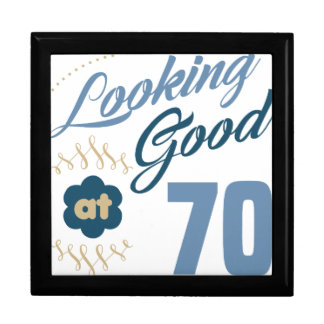 70th Birthday Looking Good Gift Box