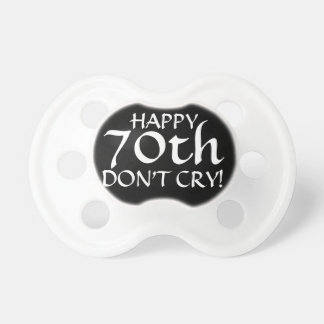 70th Birthday Party Gag Gift or Cake Topper! Dummy