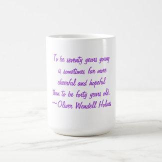 70th Birthday Quotes Mug