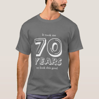 70th Birthday shirt | Customizable
