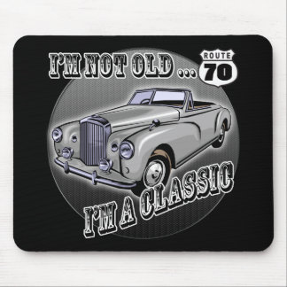70th Birthday T-shirts and Gifts Mouse Pad