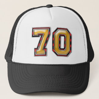 70th Birthday Trucker Hat