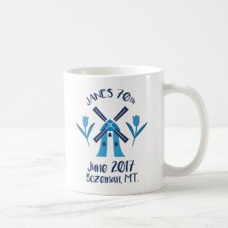 70th logo coffee mug