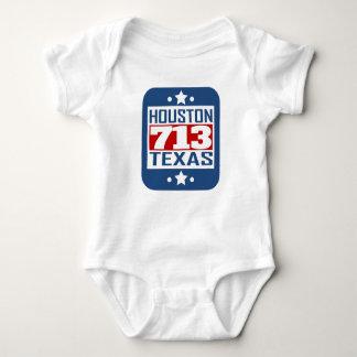 713 Houston TX Area Code Baby Bodysuit