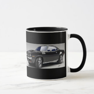 71 Barracuda Muscle Car Coffee Mug