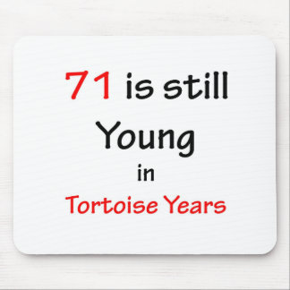 71 Tortoise Years Mouse Pad