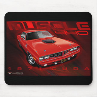 71Cuda11x17-new Mouse Pad