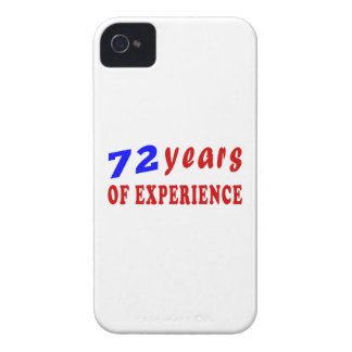 72 years of experience iPhone 4 cover