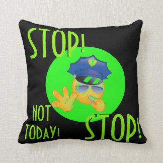 72marketing Emoji Police Officer Pillow Teen Neon