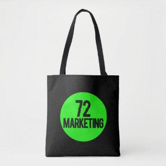 72marketing logo tote bag purse