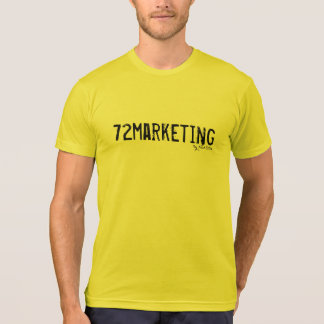 72marketing signature Jersey T-Shirt mens neon