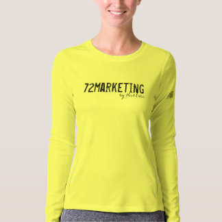72marketing signature lJersey T-Shirt ladies  neon
