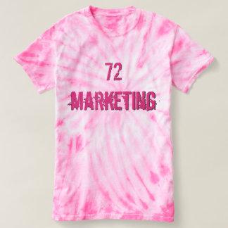 72marketing Women's Cyclone Tie-Dye T-Shirt Ladies