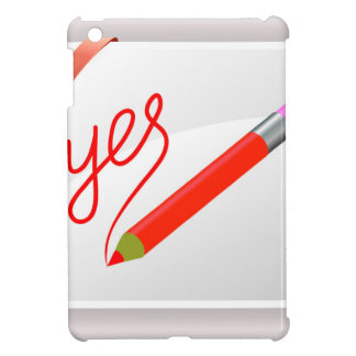 72Red Pencil_rasterized iPad Mini Covers