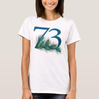 73 / 73rd number birthday or anniversary t-shirt
