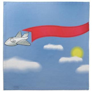 73Plane Banner_rasterized Napkin