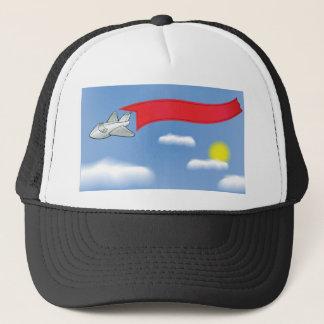 73Plane Banner_rasterized Trucker Hat