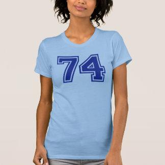 74 - number shirt