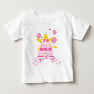 74 Year Old Birthday Cake T-shirt