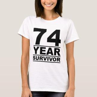 74 year survivor T-Shirt