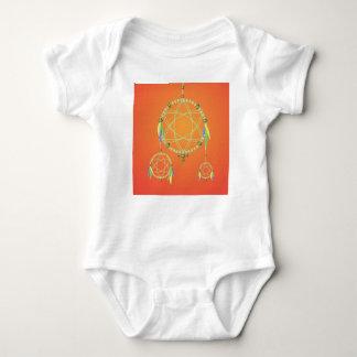74Dream Catcher_rasterized Baby Bodysuit