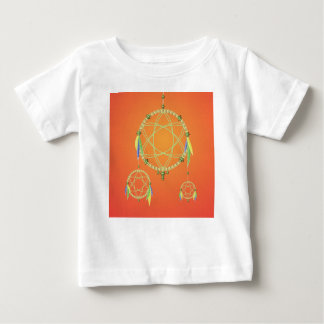 74Dream Catcher_rasterized Baby T-Shirt