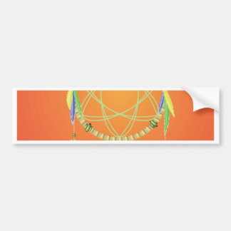 74Dream Catcher_rasterized Bumper Sticker