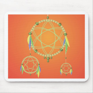 74Dream Catcher_rasterized Mouse Pad