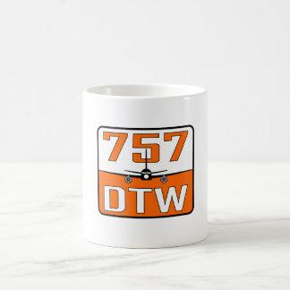757 DTW Ceramic Coffee Mug