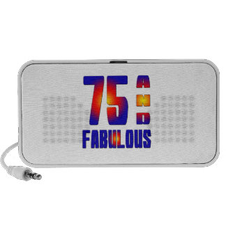 75 And Fabulous Travel Speakers