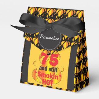 75 and Still Smokin Hot Favour Box