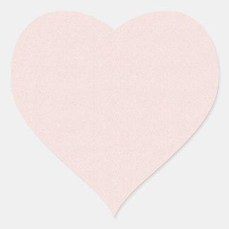 75 PLAIN Artist Created Color Tones Heart Sticker