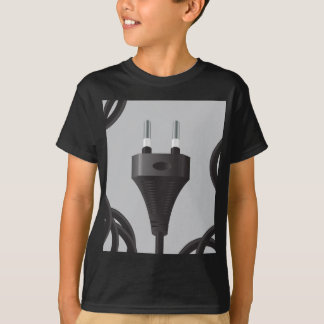 75Power Plug_rasterized T-Shirt