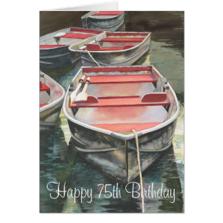 75th Birthday card